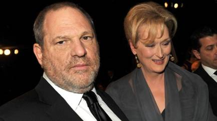 Harvey Weinstein and Meryl Streep