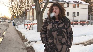 Hampstead resident Polina Belkina says she feels smokers are being unfairly targeted by the town's new anti-smoking bylaw.